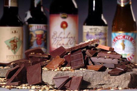 Ciocolata se inrudeste cu berea