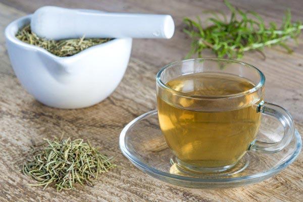 cura de slabit cu ceai de rozmarin)