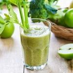 Elixir cu telina, mar, morcov si ghimbir pentru refacerea florei intestinale