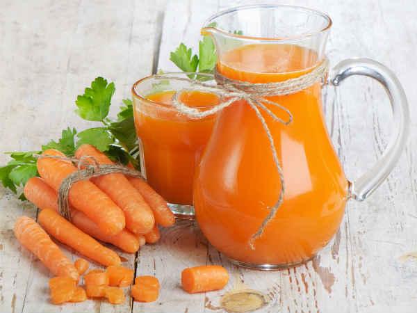 Sucul de morcov, cel mai bun prieten al ficatului și ochilor