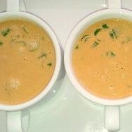 Supa crema de fasole boabe, absolut delicioasa