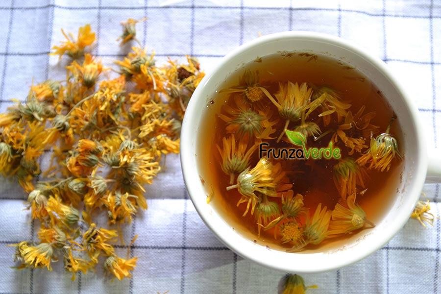 Este bine să ştii! Ce beneficii are ceaiul de gălbenele